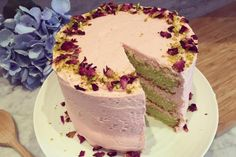 How to make a gluten-free rose and pistachio layer cake | London Evening Standard