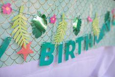 Mermaid Party Decorations, Mermaid Parties, Mermaid Birthday, Mermaid Cakes, Kara, Cake Pops, Party Supplies, Birthday Parties, Banner