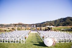 High school sweethearts get married at this gorgeous wine country venue.