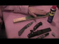 how to strop a knife - tips and demo part 1 of 2