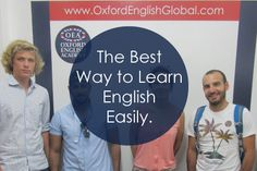 The best way to learn English easily is to enjoy it, is to make the process convenient and is to meet people who you can practise speaking English with.Click VISIT for more English learning hints and tips from the Oxford English Academy blog.#oxfordenglishacademy #learnenglish #learnenglishcapetown #englishcourse