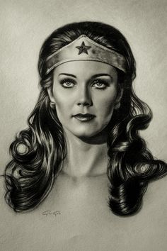 Linda Carter - Drawing on paper