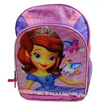McKenzey would think she is hot stuff with this!! Disney #SofiaTheFirst Backpack, available at #ToysRUs!