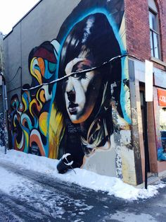 Montreal, Street Art, Painting, Painting Art, Paintings, Painted Canvas, Drawings