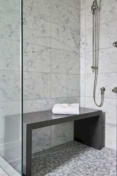 10 Certain Clever Ideas: Small Shower Remodel Tile tub shower remodel ideas.Small Shower Remodel Wood small shower remodeling with curtain. Small Shower Remodel, Diy Bathroom Remodel, Bathroom Ideas, Bathroom Updates, Bath Remodel, Kitchen Remodel, Bathroom Makeovers, Shower Seat, Shower With Bench