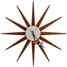 "Vintage ""Spike"" Clock by George Nelson"