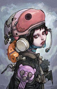 GR2: Katsuya Terada Hot Pot Girls Art | Giant Robot | Flickr