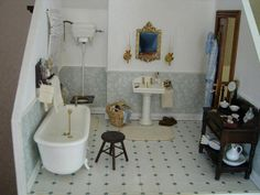 Cosediunaltromondo | A Mini Shabby Chic Bathroom | Pinterest