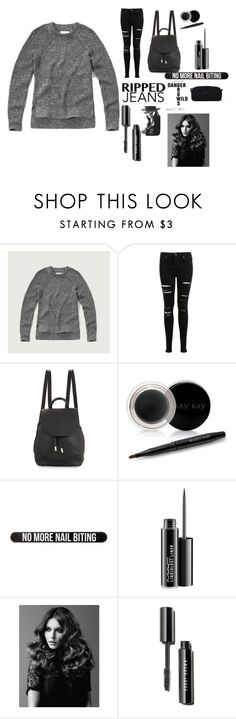 """Untitled #37"" by wcyera on Polyvore featuring Abercrombie & Fitch, Miss Selfridge, Cushnie Et Ochs, rag & bone, Mary Kay, Bershka, MAC Cosmetics, BaByliss Pro and Marc by Marc Jacobs"