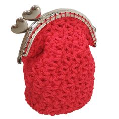 Crochet rettro coin keeper Embroidery Bags, Coins, Coin Purse, Purses, Wallet, Crochet, Handmade, Products, Fashion