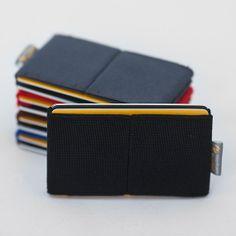 Men wallet, credit card holder, men and women wallet ,elastic slim minimalist , modern design