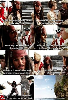 Captain Jack Sparrow --- Pirates of the Caribbean Will Turner, Jack Sparrow Quotes, Johny Depp, Pirate Life, Film Serie, Disney Quotes, Pirates Of The Caribbean, Disney And Dreamworks, Disney Love