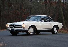1963 Mercedes-Benz 230SL Pagoda. So sweet.
