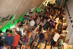 Crowds see the fascinating displays at #SU2014