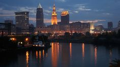 Desktop Wallpapers » Other Backgrounds » By the Tracks Cleveland