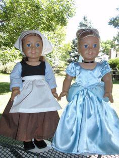 American Girl Cinderella paly set