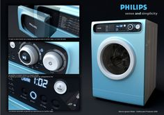 Washer by Marcos Madia, via Behance