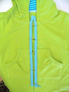 The OTTOBRE design® Blog: Ottilia Sews! Hooded Sweat Jacket Tutorial
