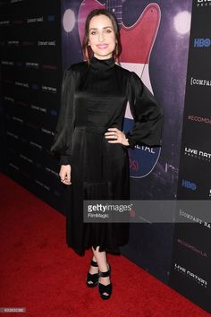 Zoe Lister-Jones attends 'Eagles of Death Metal: Nos Amis (Our Friends)' premiere from HBO & Live Nation Productions on February 2, 2017 in Los Angeles, California.