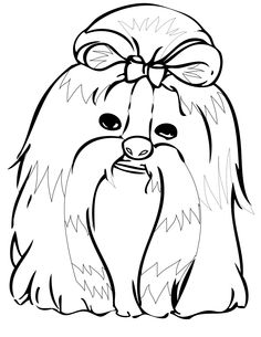 assistance dogs coloring pages - photo#33