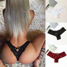 Seamless Panties Letter Lingerie G-string Briefs Underwear Thongs Bikini Knicker