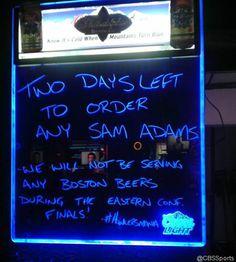 Pittsburgh Bar Stops Serving Samuel Adams During NHL Playoffs