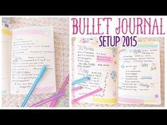 ❤ Aktuelles Bullet Journal Setup - Deutsch ❤ - YouTube