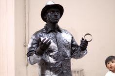 https://flic.kr/p/tq2EqF | Estatua Humana II | Artista callejero, representando la estatua humana de un esclavo del siglo XVI.  Twitter: DiNoBokeh Instagram: artdino_ Sitio web: Perú Generación XXI Facebook: ArtDiNo15
