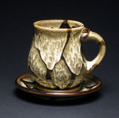 Teacup & Saucer by Caleb Zouhary