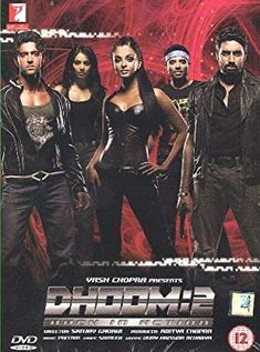 Dhoom 2 Back In Action Bollywood DVD With English Subtitles Hindi Bollywood Movies, Bollywood Posters, Bollywood Cinema, Bollywood Fashion, Hd Movies Online, Shahid Kapoor, Kareena Kapoor, Dhoom 2, Poster