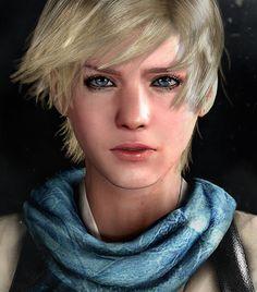 She's so pretty♥️ Tyrant Resident Evil, Resident Evil Video Game, Resident Evil Anime, Shinji Mikami, Anime Couples, Hair Cuts, Pixie Haircuts, Lara Croft, Metal Gear
