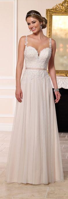 Stella Iorque Primavera 2016 do vestido de casamento