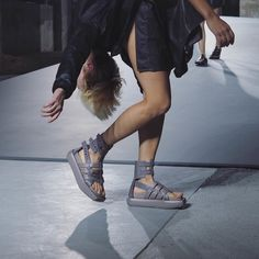 Rick Owens put on the craziest show at Paris Fashion Week. Go front row on wmag.com.