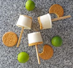 """""""Dulce de limón"""" Ice Pops. A traditional Mexican dessert made into a popsicle."""