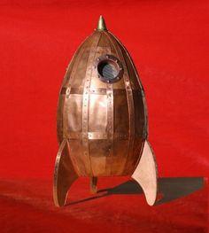rocket lamp   rocket lamp   Robots, Spaceships, etc.