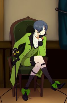"I sat in my seat next to Ciel quietly. I sat just looking around the room for a while just taking everything in, then I looked over at Ciel, who had been staring at me with this happy look. When we made eye contact he blushed at looked away. I giggled and said ""You know, I have been meaning to ask you. Why do you always look at me that way, with that smile?"" He turned back to me and chuckled ""Because the thing I'm looking at makes me smile, and she is the only thing I want to look at"". I…"