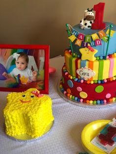 Little Baby Bum Birthday Baby First Birthday Themes, 1st Birthday Decorations, Baby Boy Birthday, Boy Birthday Parties, 2nd Birthday, Birthday Ideas, Twins 1st Birthdays, Party Ideas, Cakes