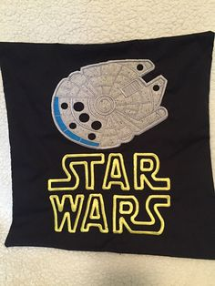 Pillows is made of 100% cotton, the falcon is appliqued on the pillow with polyester embroidery thread. The logo is embroideried directly on the