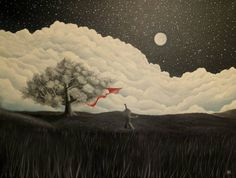 In the clouds Art Print Oil On Canvas, Saatchi Art, Artworks, Original Paintings, Clouds, Landscape, Artist, Scenery, Artists