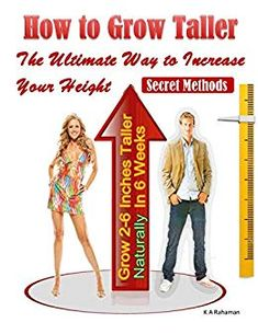 How to Grow Taller: The Ultimate Way to Increase Your Height, Grow Inches Taller Naturally In 6 Weeks, Secret Methods ebook by Jim Khondekar - Rakuten Kobo How To Be Taller, How To Become Tall, Get Taller Exercises, Stretches To Grow Taller, Increase Height Exercise, Tips To Increase Height, Human Height, Height Grow, Basic Yoga Poses