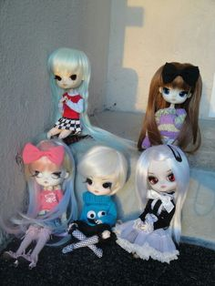 """Little girls (Rima - Dal Tweety, Disney - Dal Kagamine Rin, Roxette """"Rory"""" - Dal Icarus, Daphne - Dal Angry and Memoria - Dal Tina)"""