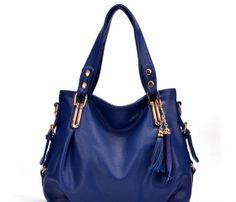 9f7d62d65 tendência bolsa de moda da Europa e dos Estados Unidos com sacos borlas de  couro de
