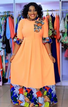 2019 Latest and Beautiful Ankara Gown Styles Long African Dresses, Latest African Fashion Dresses, African Print Dresses, African Print Fashion, Ankara Fashion, African Lace, Beautiful Ankara Gowns, Ankara Short Gown Styles, African Attire