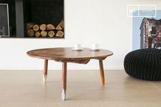 La mesa de centro Pencil es una mesa de centro nórdica grande que se puede usar en cualquier interior escandinavo.