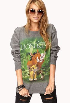 The Lion King Sweatshirt (Because owning more than one lion king sweatshirt is totally okay, right?)
