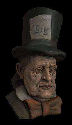 rzeźba kameralna - kapelusznik
