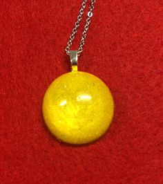 Sunshine Yellow Shimmer not glitter in Resin on by 3GEMerations