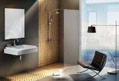 VIDRE Ścianka prysznicowa WALK IN FIX 130 cm