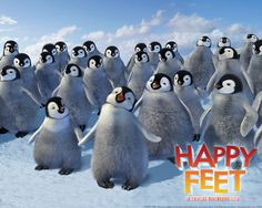 Watch Streaming HD Happy Feet, starring Elijah Wood, Brittany Murphy, Hugh Jackman, Robin Williams. Into the world of the Emperor Penguins, who find their soul mates through song, a penguin is born who cannot sing. But he can tap dance something fierce! #Animation #Comedy #Family #Music http://play.theatrr.com/play.php?movie=0366548