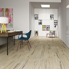 Trend Wood 53 x 106 cm – Seu acabamento escovado estimula o prazer de andar descalço em casa.